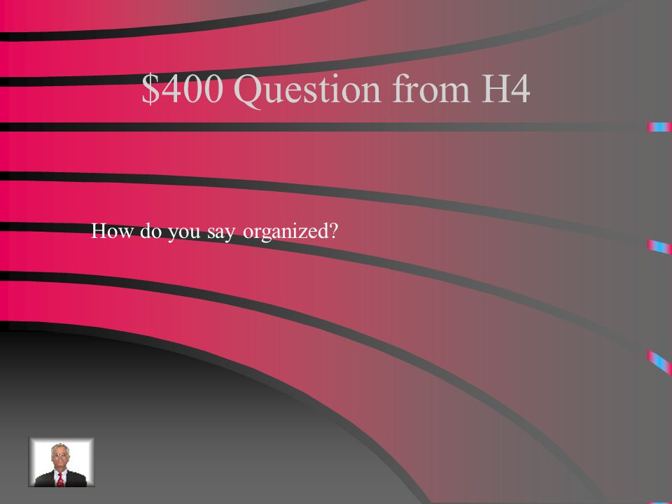 $300 Answer from H4 Pequeño
