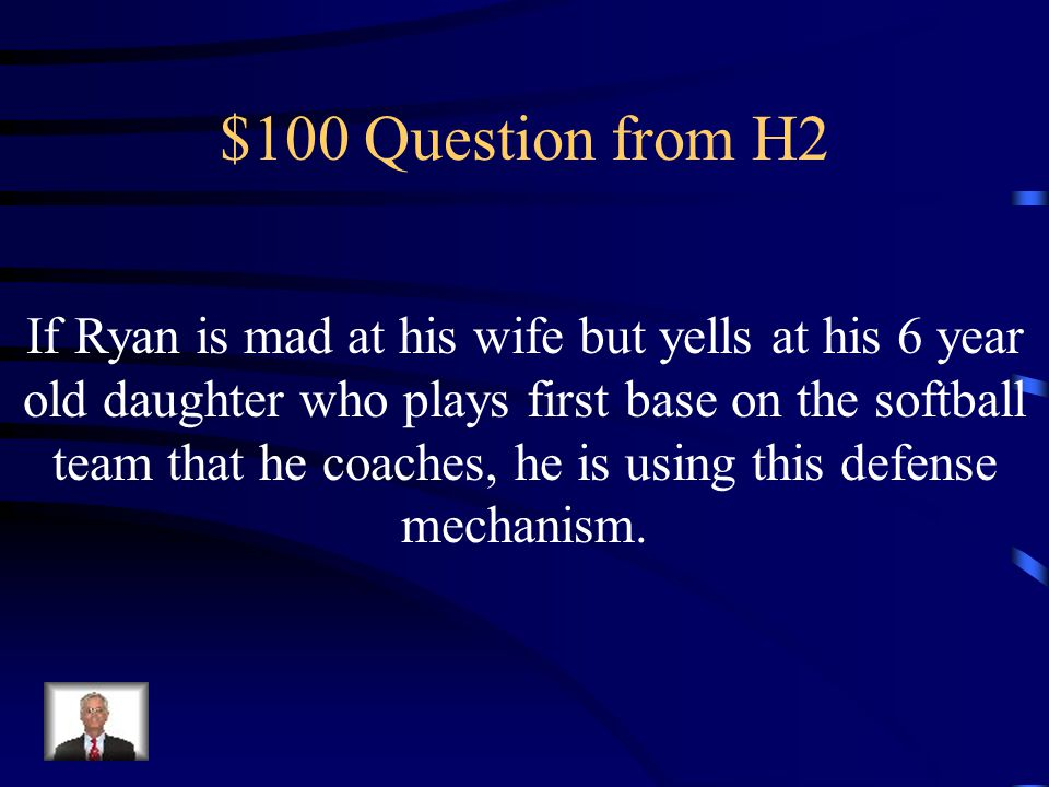 $500 Answer from H1 What is the unconscious