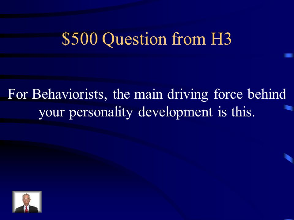 $400 Answer from H3 What is a Conditioned Response