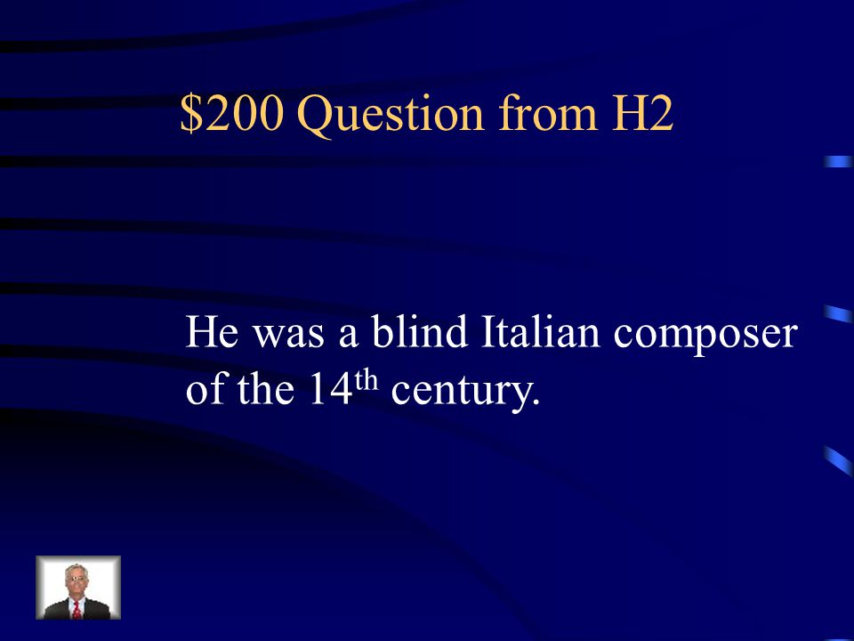 $100 Answer from H2 Who is Hildegard