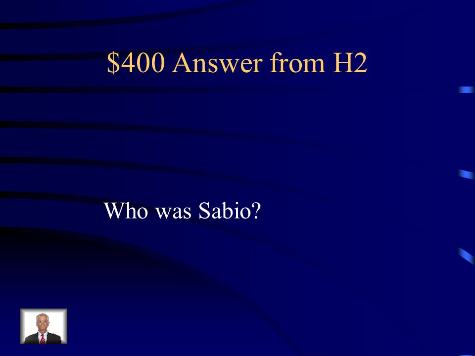 $400 Question from H2 He took music that was sung and arranged it for medieval instruments.