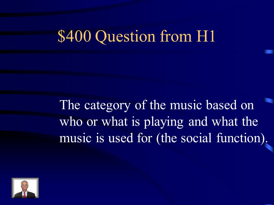 $300 Answer from H1 What is timbre