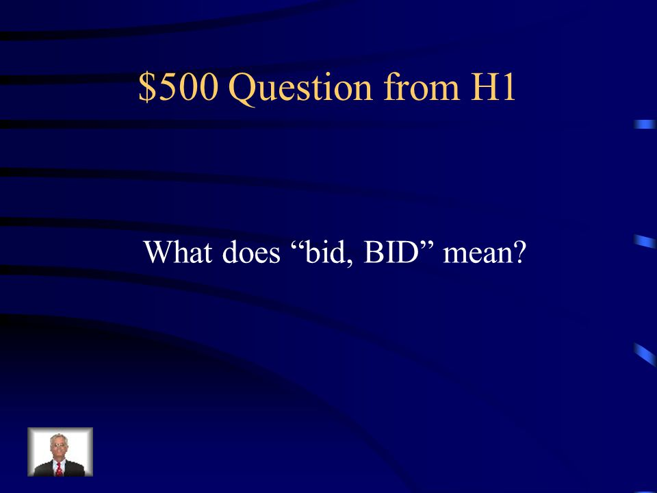 $400 Answer from H1 Before Meals
