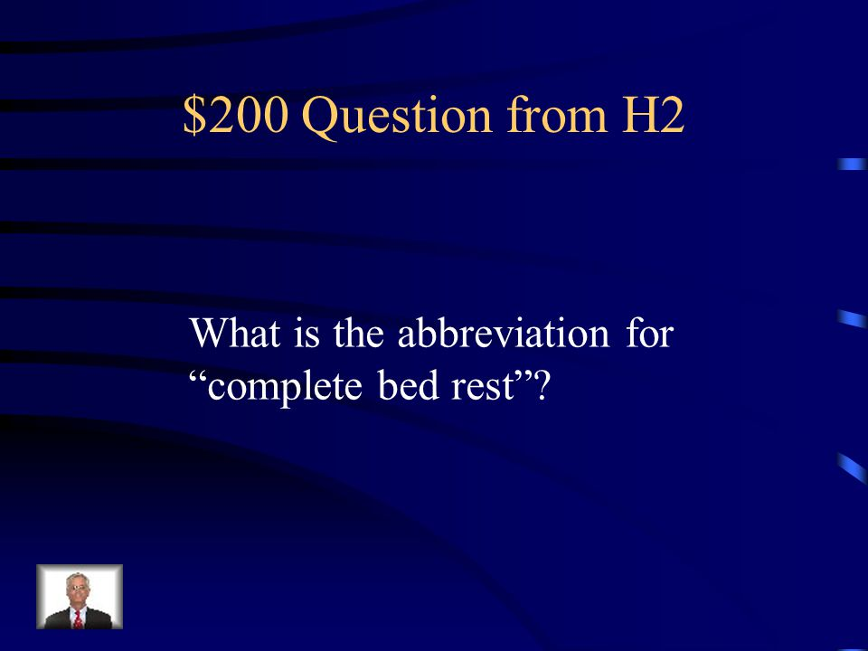 $100 Answer from H2 °C