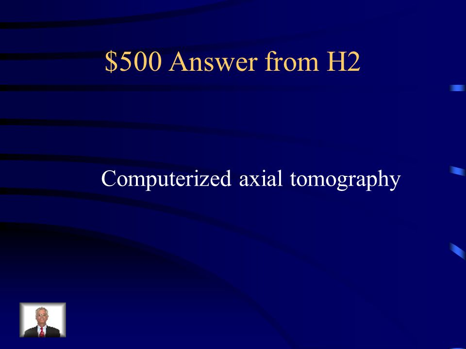 $500 Question from H2 What does CAT stand for