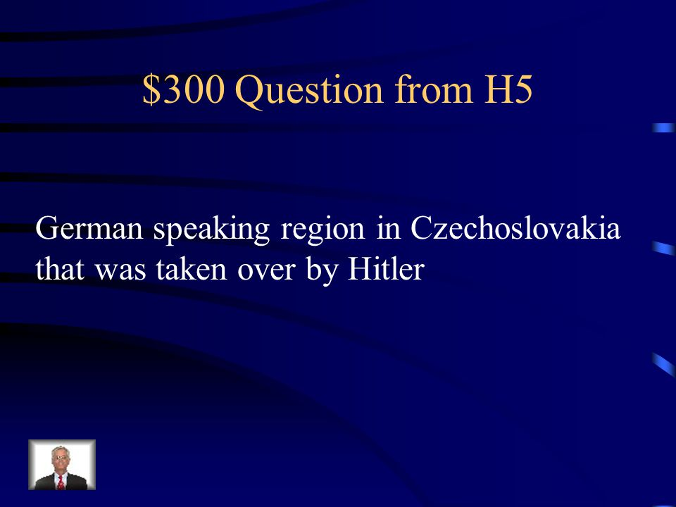 $200 Answer from H5 Luftwaffe