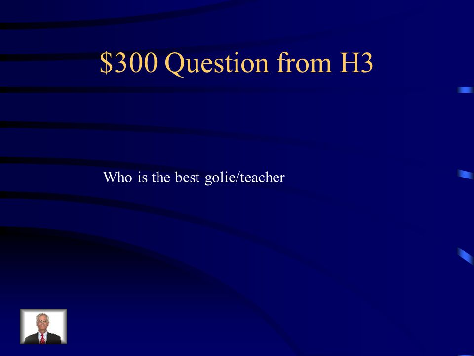 $200 Answer from H3 kollar