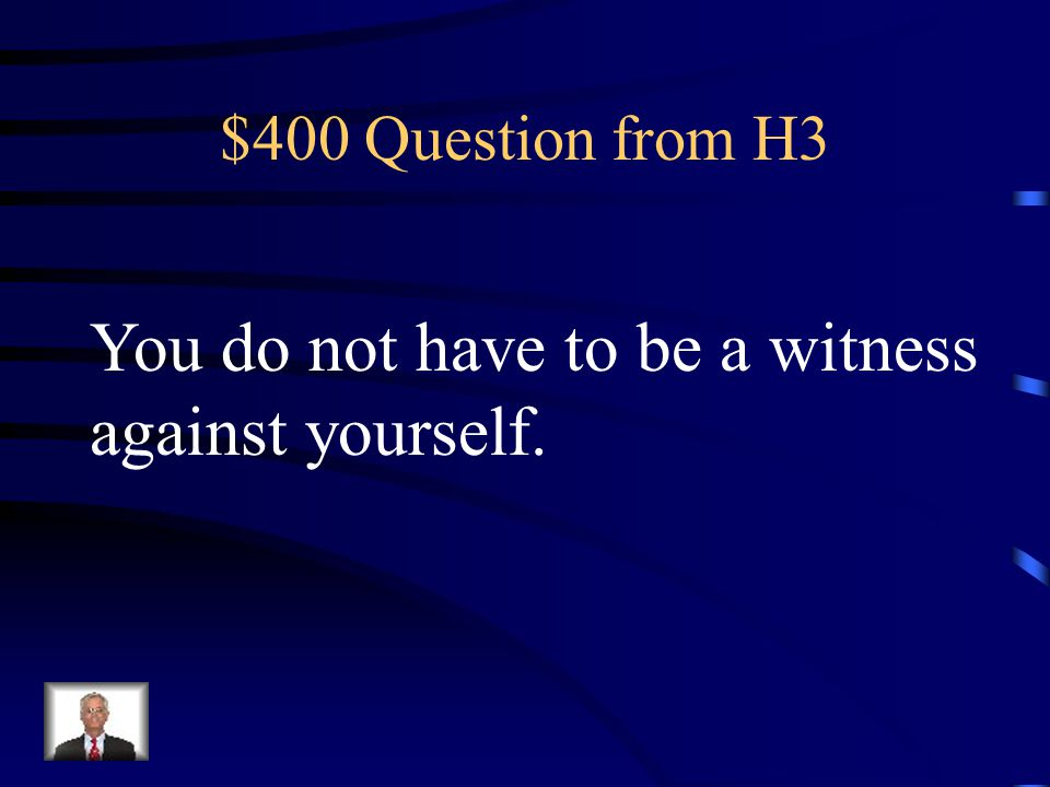 $300 Answer from H3 AMENDMENT 7