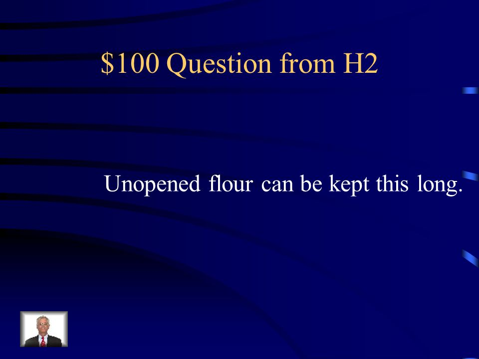 $500 Answer from H1 Organic, Chemical, and Pysical