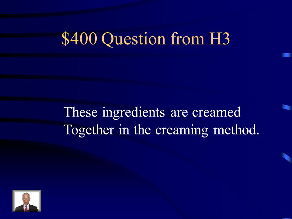 $300 Answer from H3 Several Days