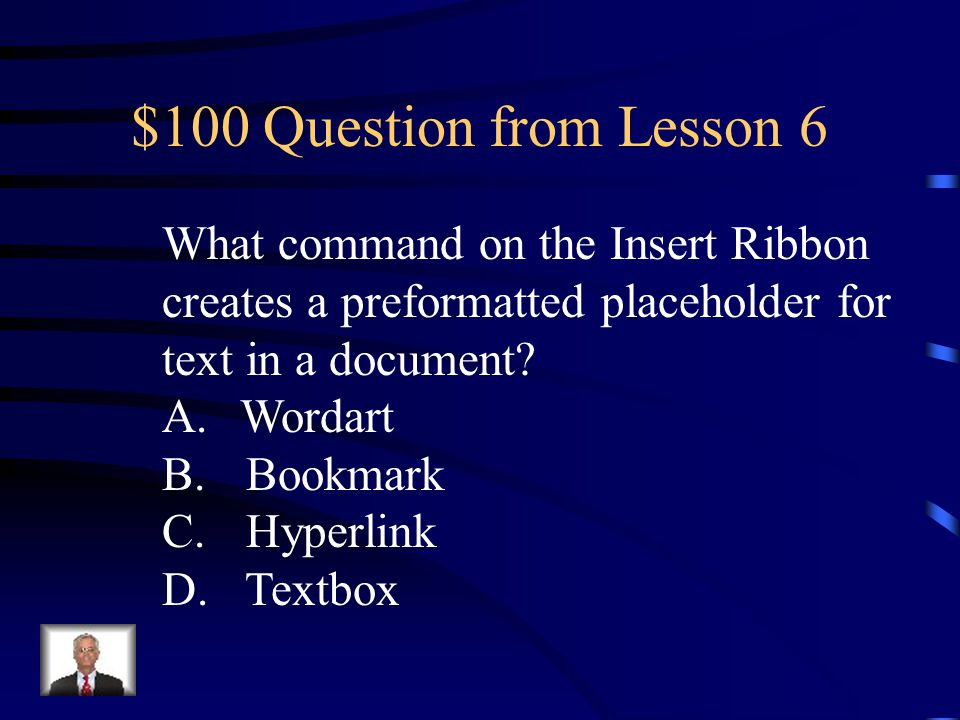 $100 Question from H3 Your Text Here
