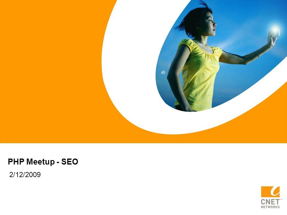 PHP Meetup - SEO 2/12/2009