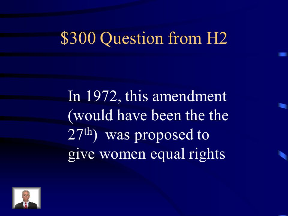 $200 Answer from H2 Feminism