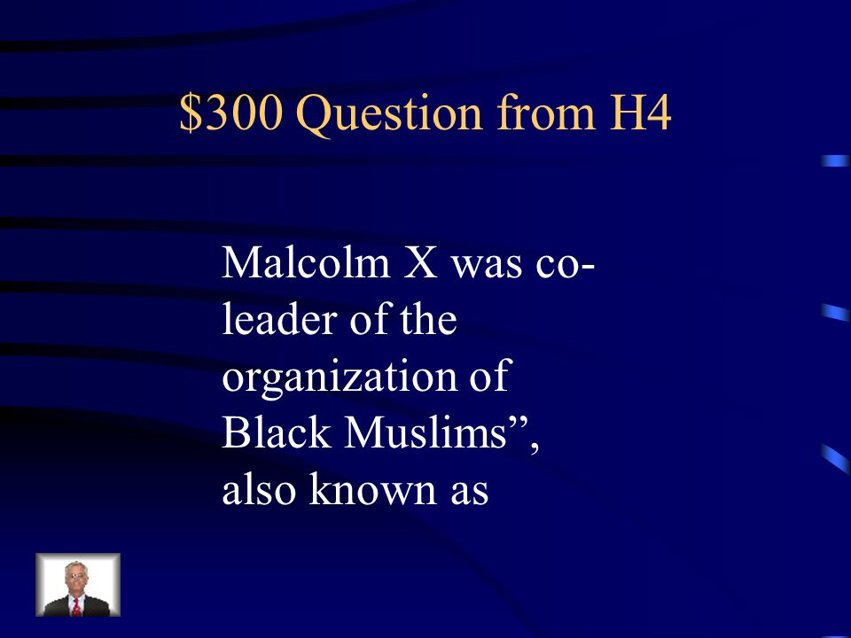 $200 Answer from H4 Hippies