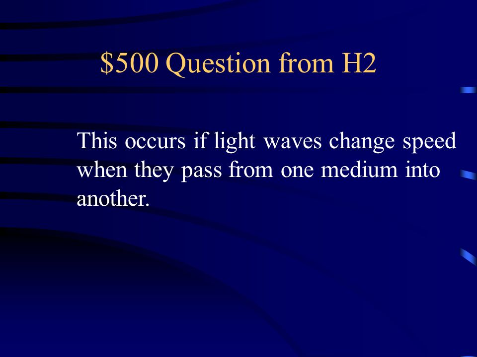 $400 Answer from H2 What is they scatter?