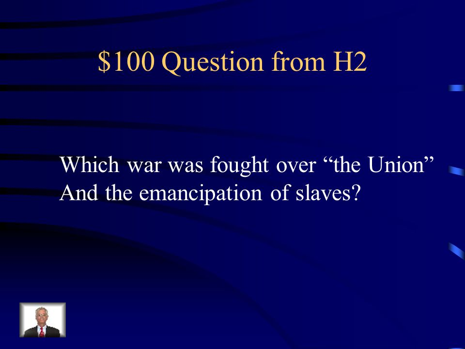 $500 Answer from H1 Julius Caesar