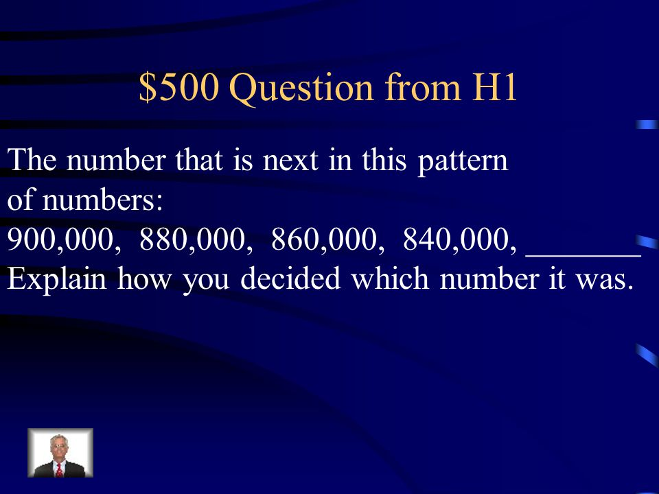 $400 Answer from H1 What is