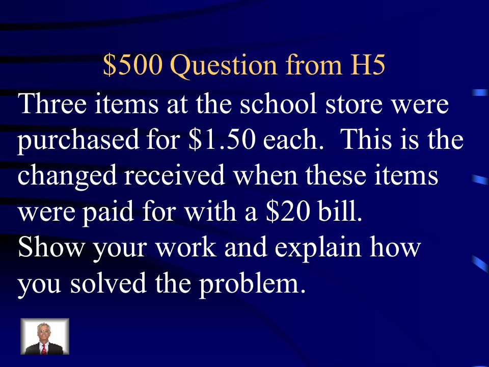 $400 Answer from H5 What is $55.10