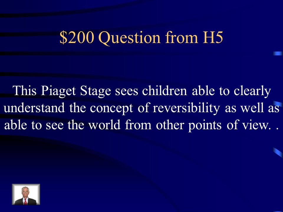 $100 Answer from H5 What is Preconventional
