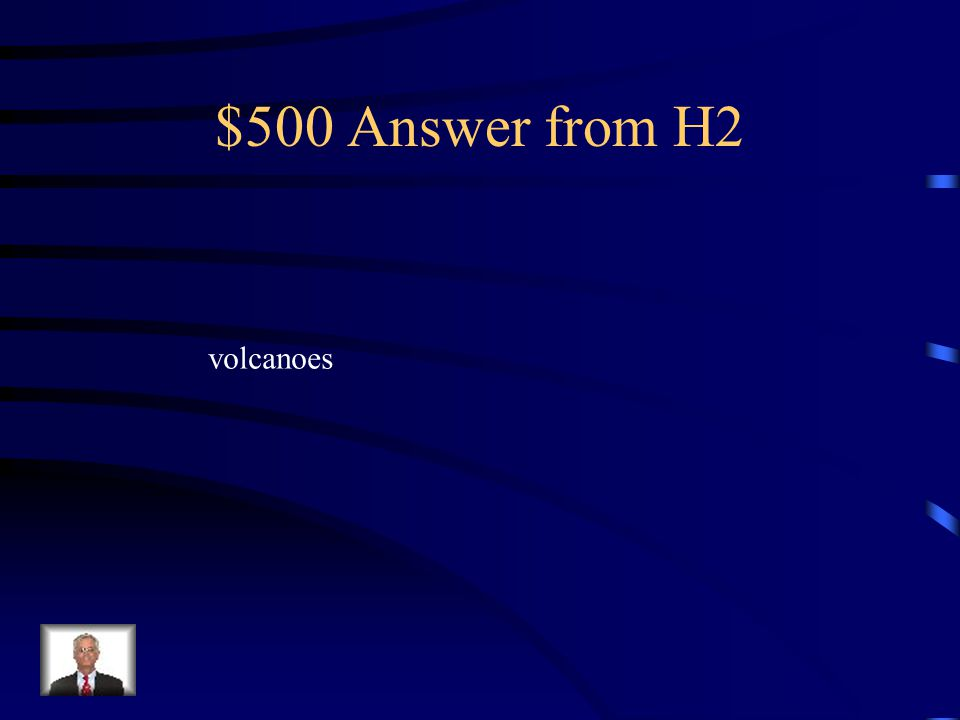 $500 Question from H2 Where might ocean water have originated