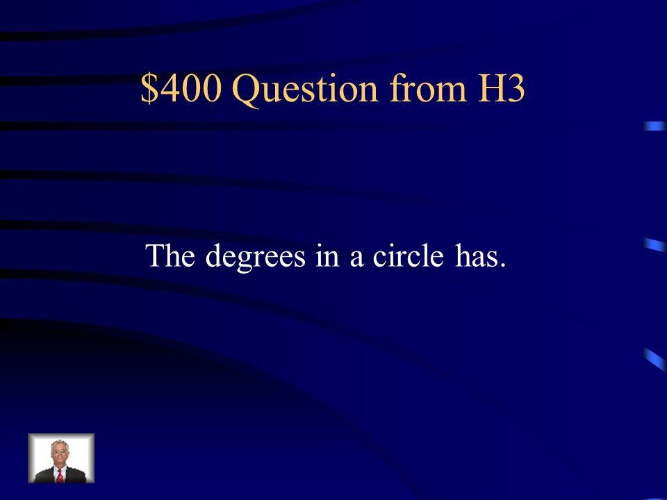 $300 Answer from H3 A polygon.