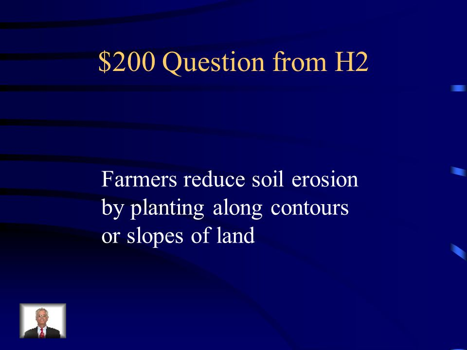 $100 Answer from H2 What is Water