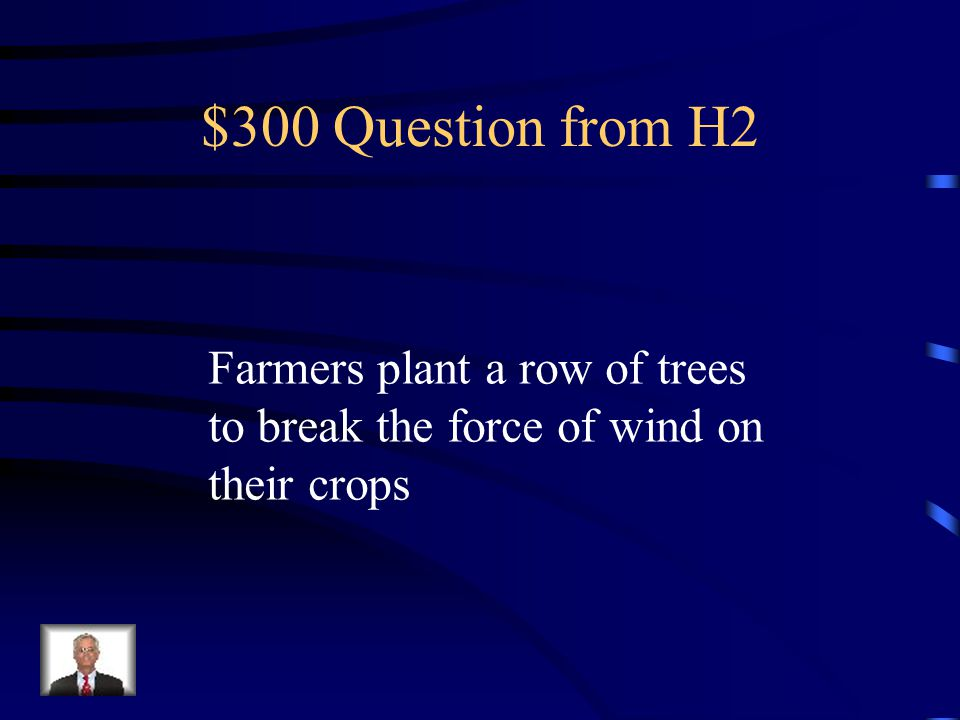 $200 Answer from H2 What is Contour Farming
