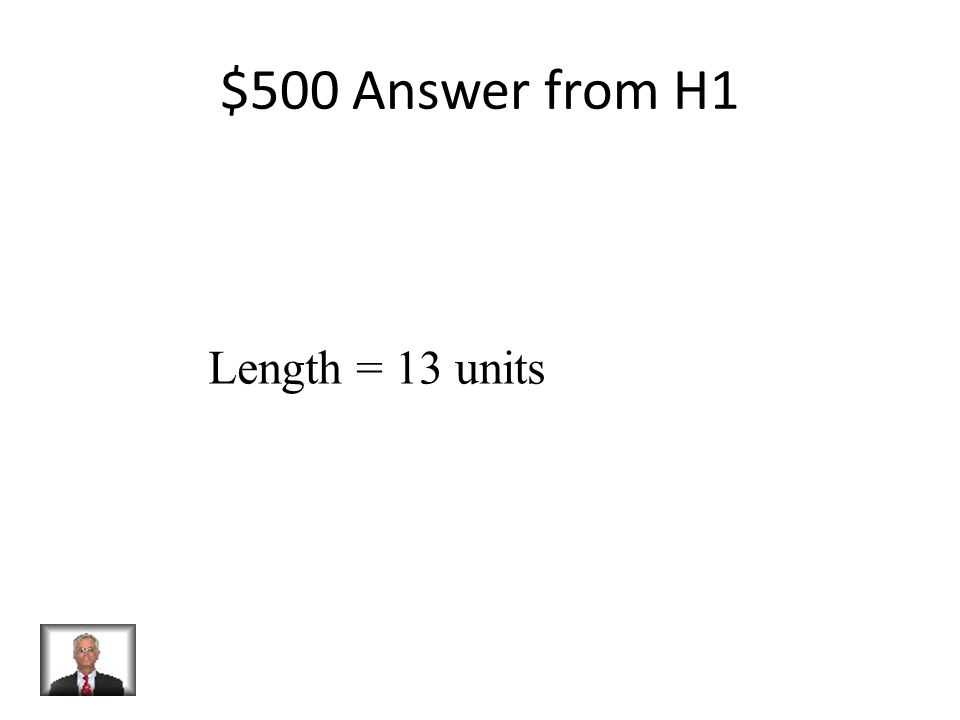 $500 Question from H1 Find the length of a rectangle That has a perimeter of 42 and a Width of 8.