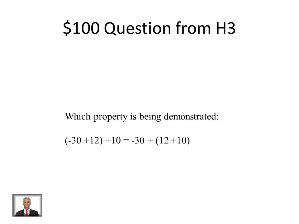 $500 Answer from H2 22