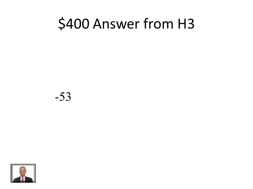 $400 Question from H3 Solve: P + 32 = -21