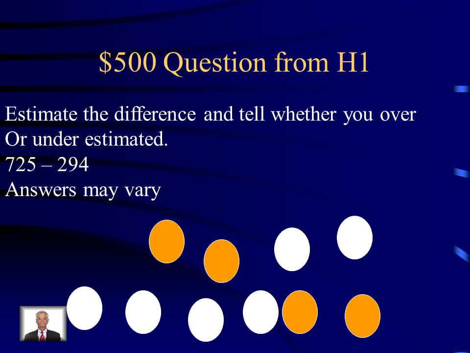 $400 Answer from H1 327