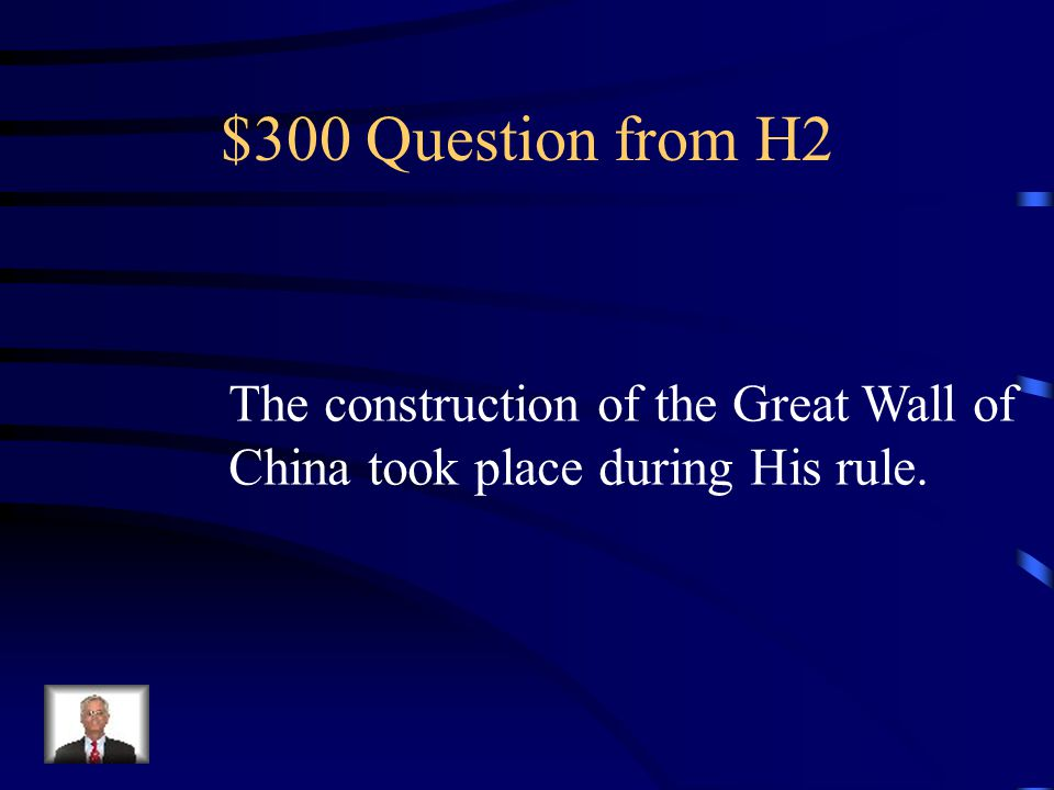 $200 Answer from H2 Who is Wudi?