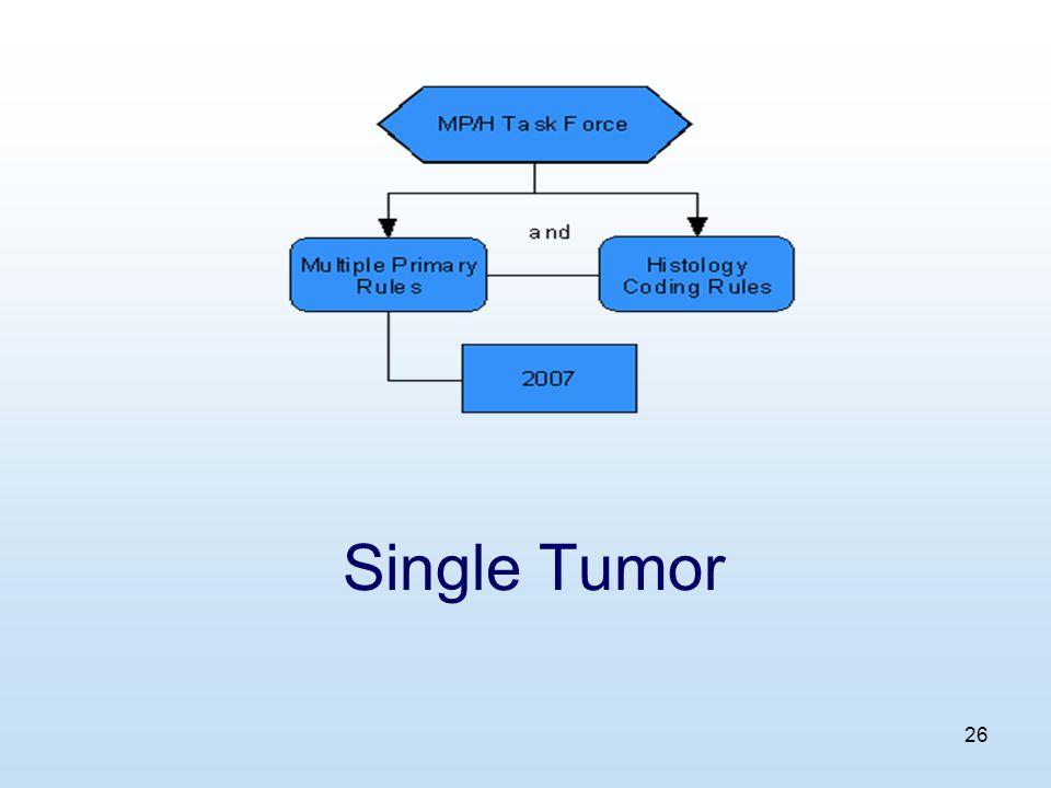 26 Single Tumor