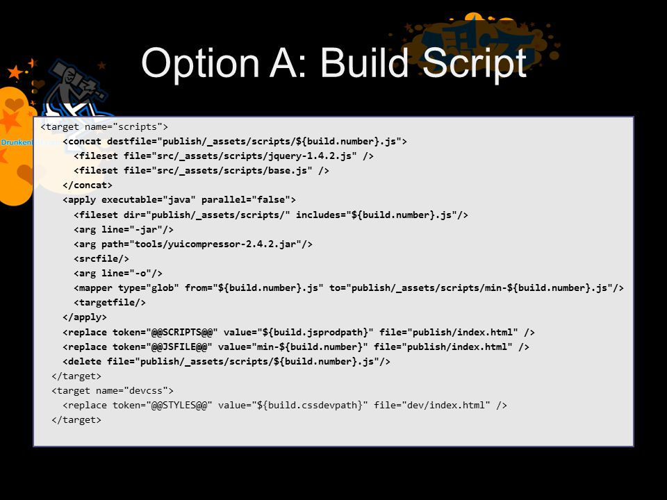 Option A: Build Script