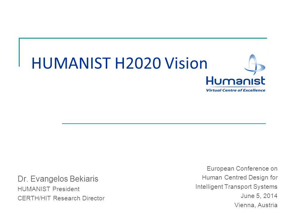 HUMANIST H2020 Vision Dr.