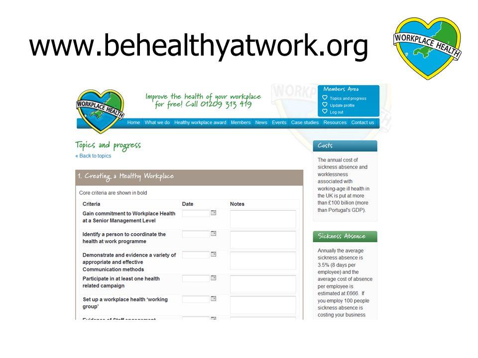 www.behealthyatwork.org