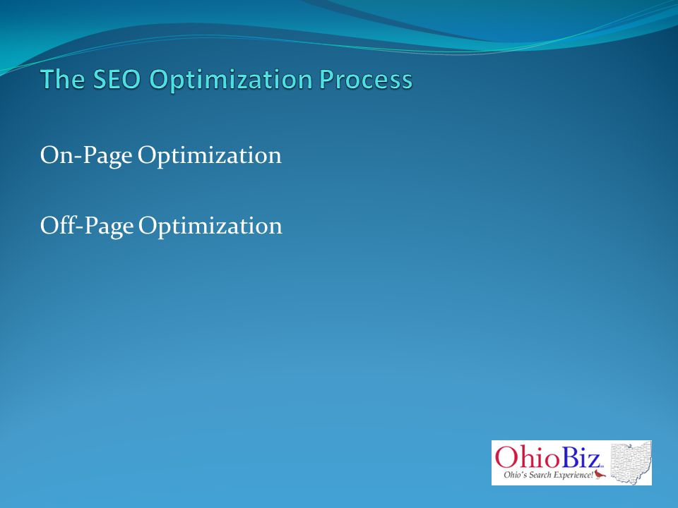 On-Page Optimization Off-Page Optimization