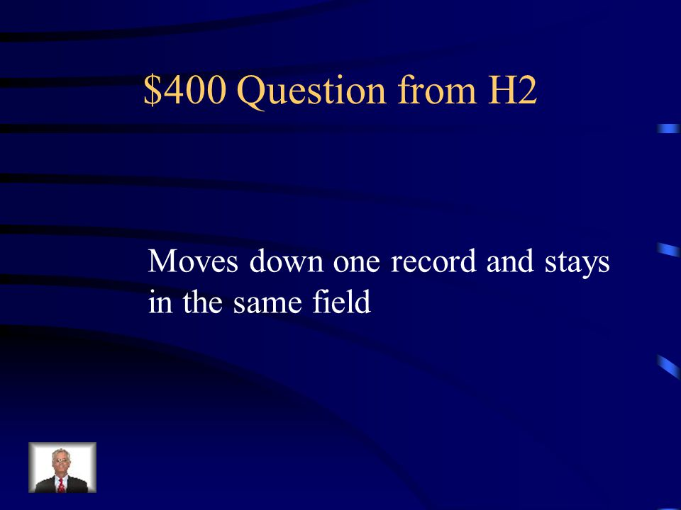 $300 Answer from H2 What is… Page Down