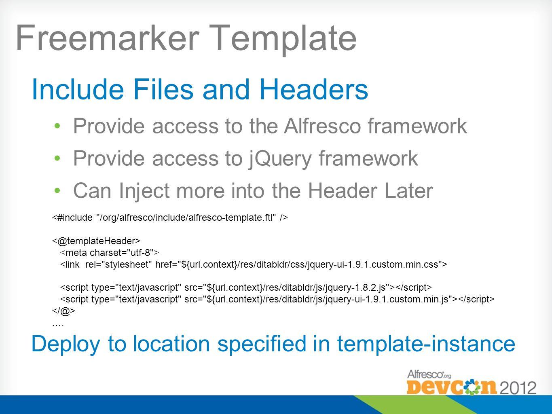 Freemarker Template ….