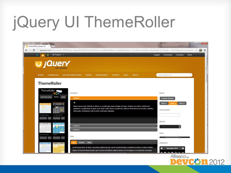 jQuery UI ThemeRoller