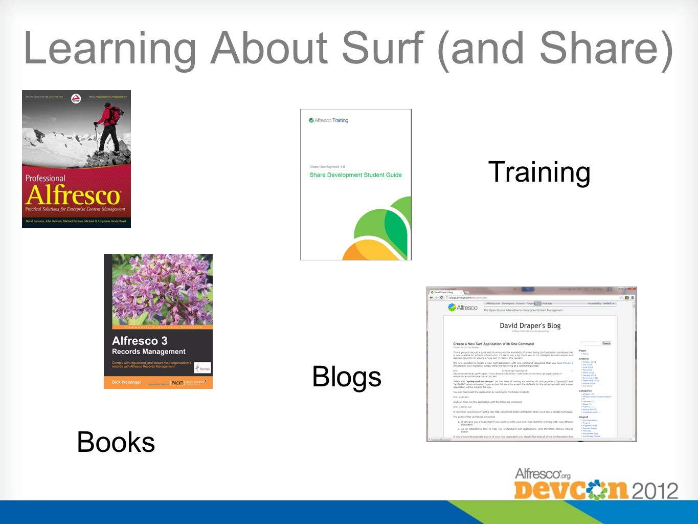Learning About Surf (and Share) Books Training Blogs