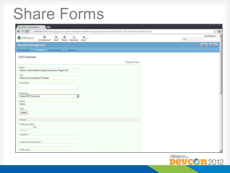 Alfresco UI Platforms