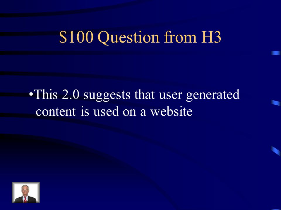 $500 Answer from H2 Supply Chain Management