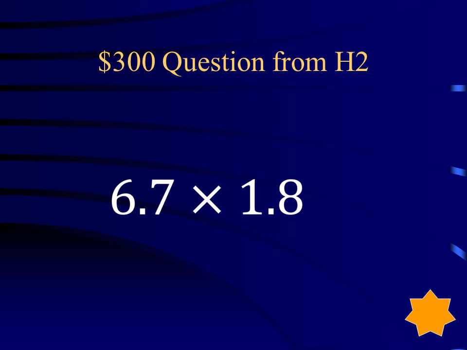 $200 Answer from H2 1846.5