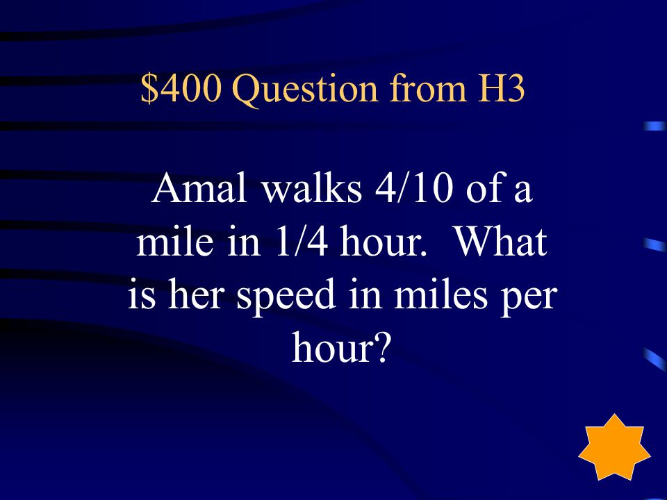 $300 Answer from H3 96 2/3 heartbeats per minute