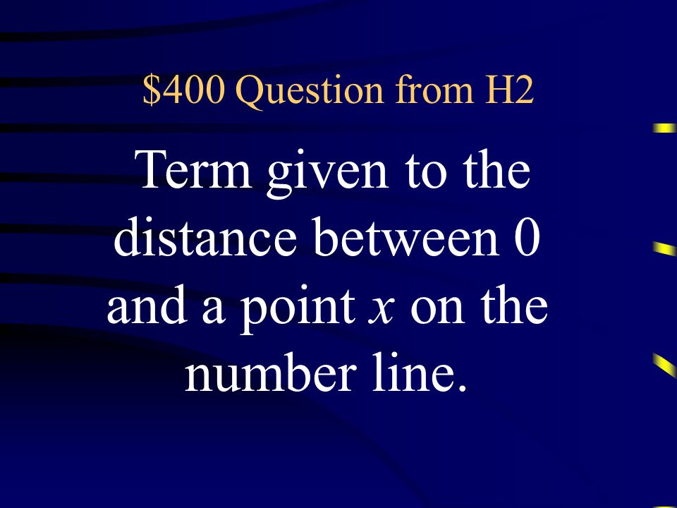 $300 Answer from H2 What is the reciprocal of x? Questions