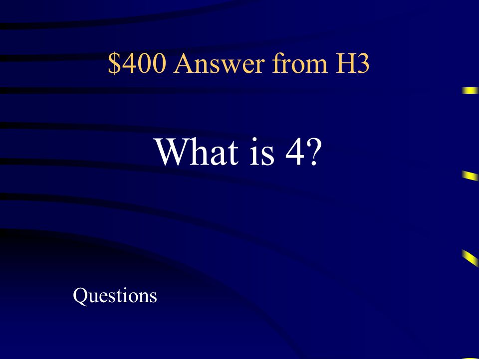$400 Question from H3 Simplified form of