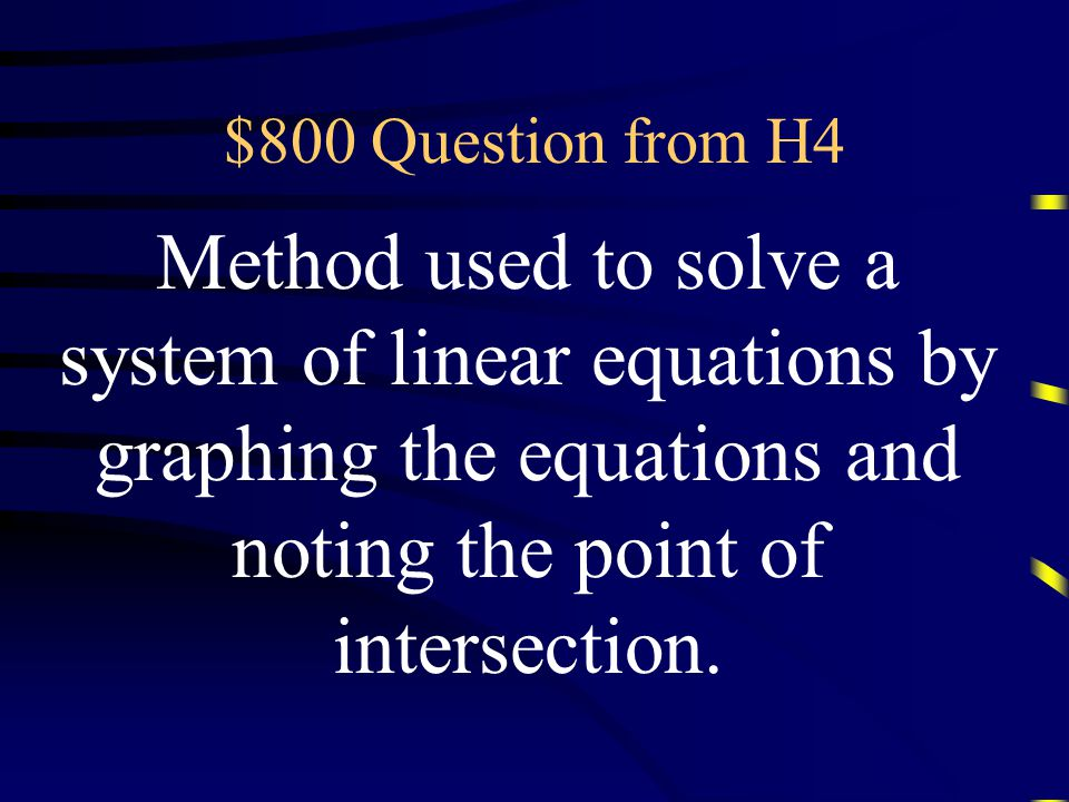 $600 Answer from H4 What is zero? Questions