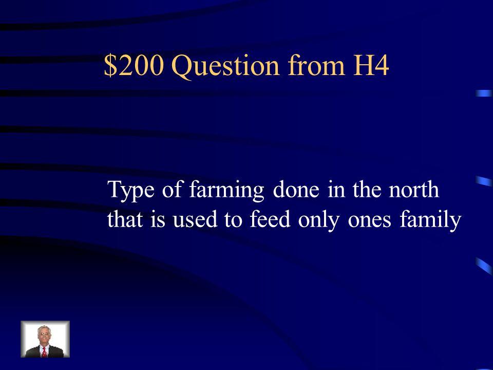 $100 Answer from H4 William Lloyd Garrison