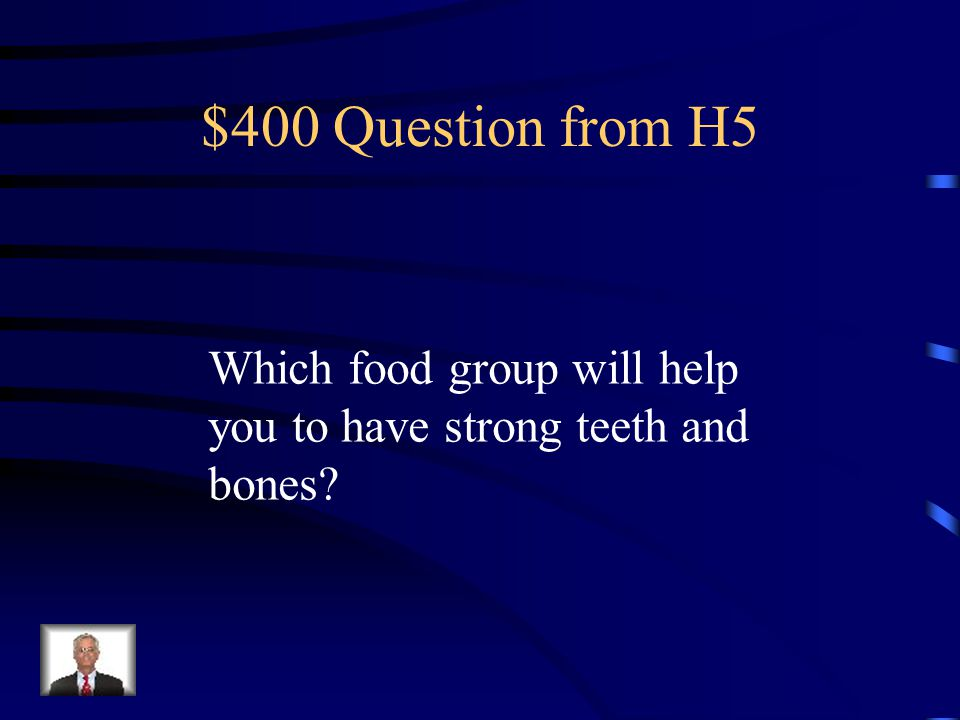 $300 Answer from H5 Breads, cereals, rice and pasta